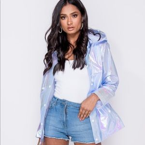 Iridescent Rain Jacket